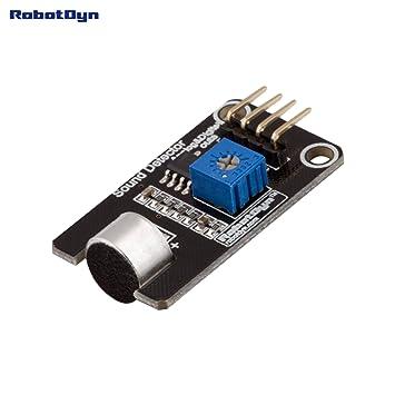 Amazon robotdyn microphone sound voice detector module robotdyn microphone sound voice detector module sensor with digital and analog publicscrutiny Choice Image