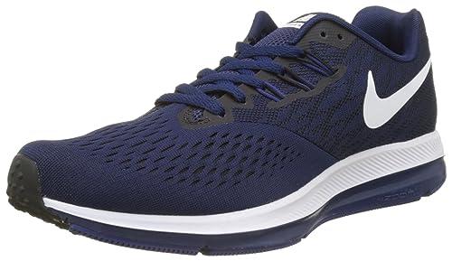 Zoom Winflo 4 Binary Blue Running Shoes