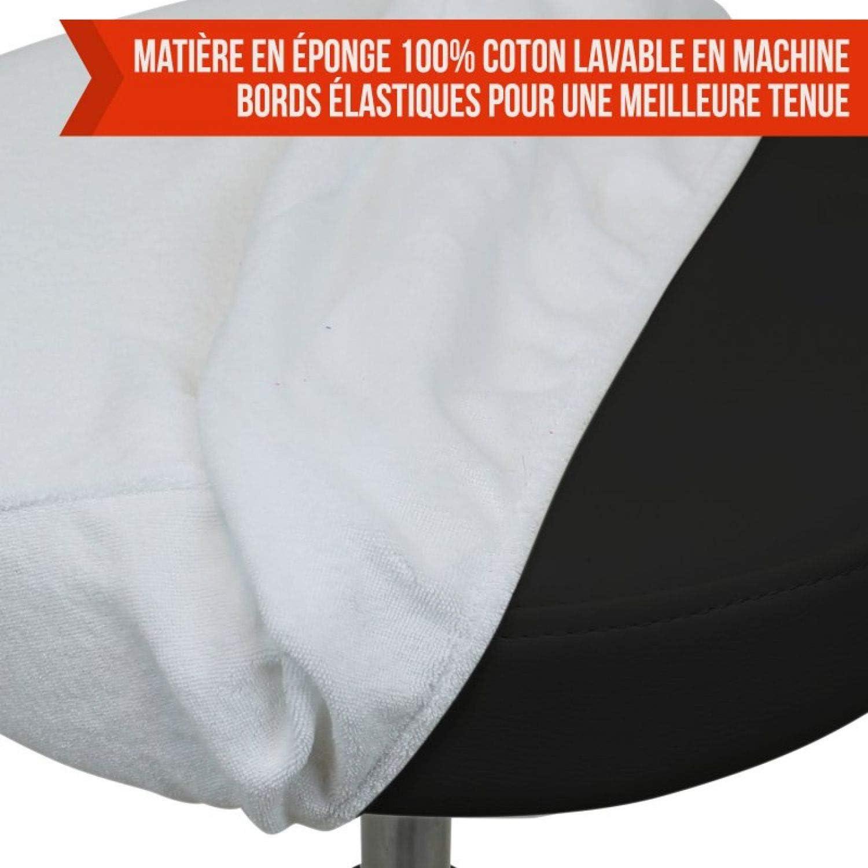10 coloris Vivezen /® Drap housse de protection en /éponge pour tabouret rond Norme CE