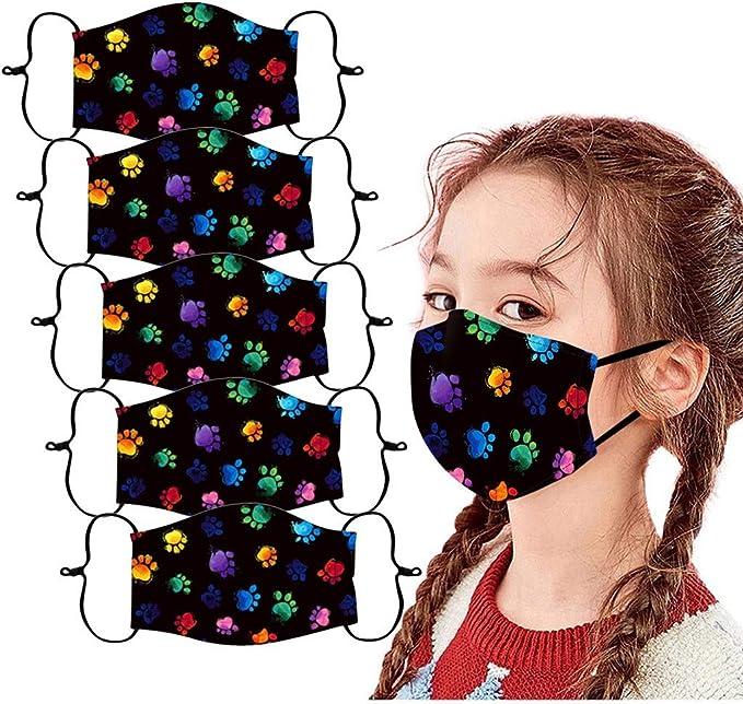 Waschbar Mundschutz Multifunktionstuch 3D Druck Bandana Winddicht Wiederverwendbar Baumwolle Atmungsaktiv Mund-Nasenschutz Tiermotiv Halstuch Schals f/ür Herren Damen