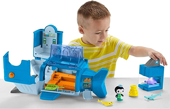 Pooparoos Fisher-Price Octonauts GUP-W Reef Rescue Playset