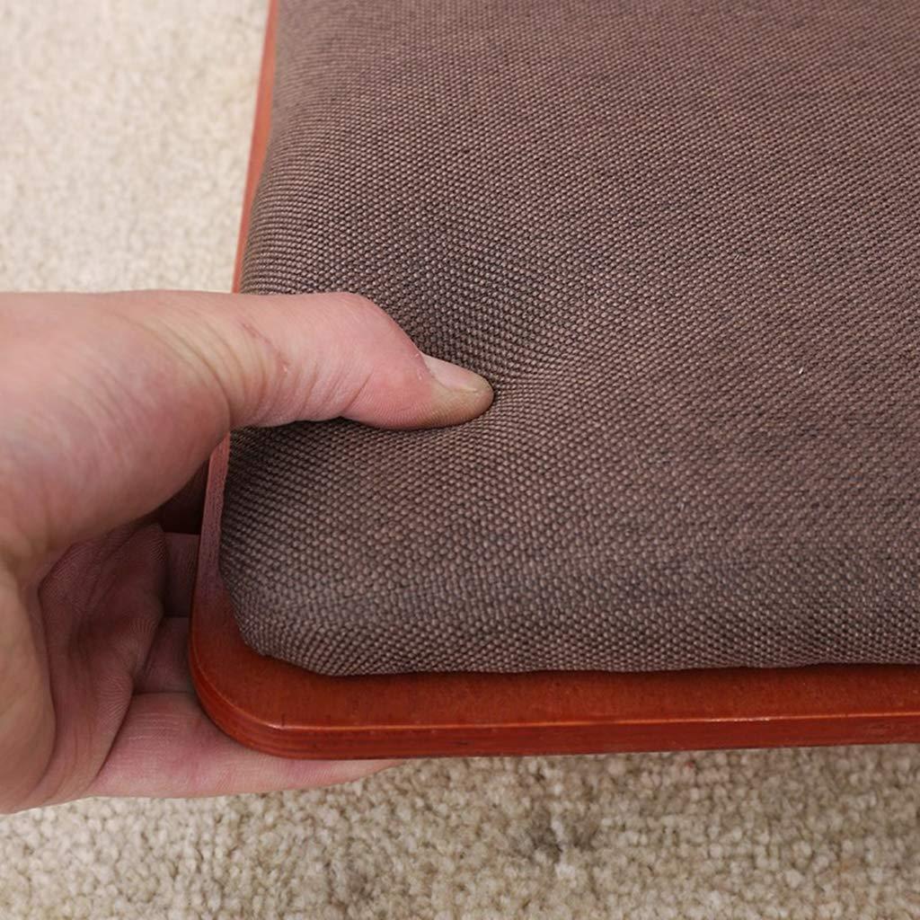 HEWEI Golvstol med fem hål, lat soffa spel meditation golv stol golv stolar, spelstolar, vardagsrum stol japansk legless stol, bukt rygg stol lat stol kudde, B. c
