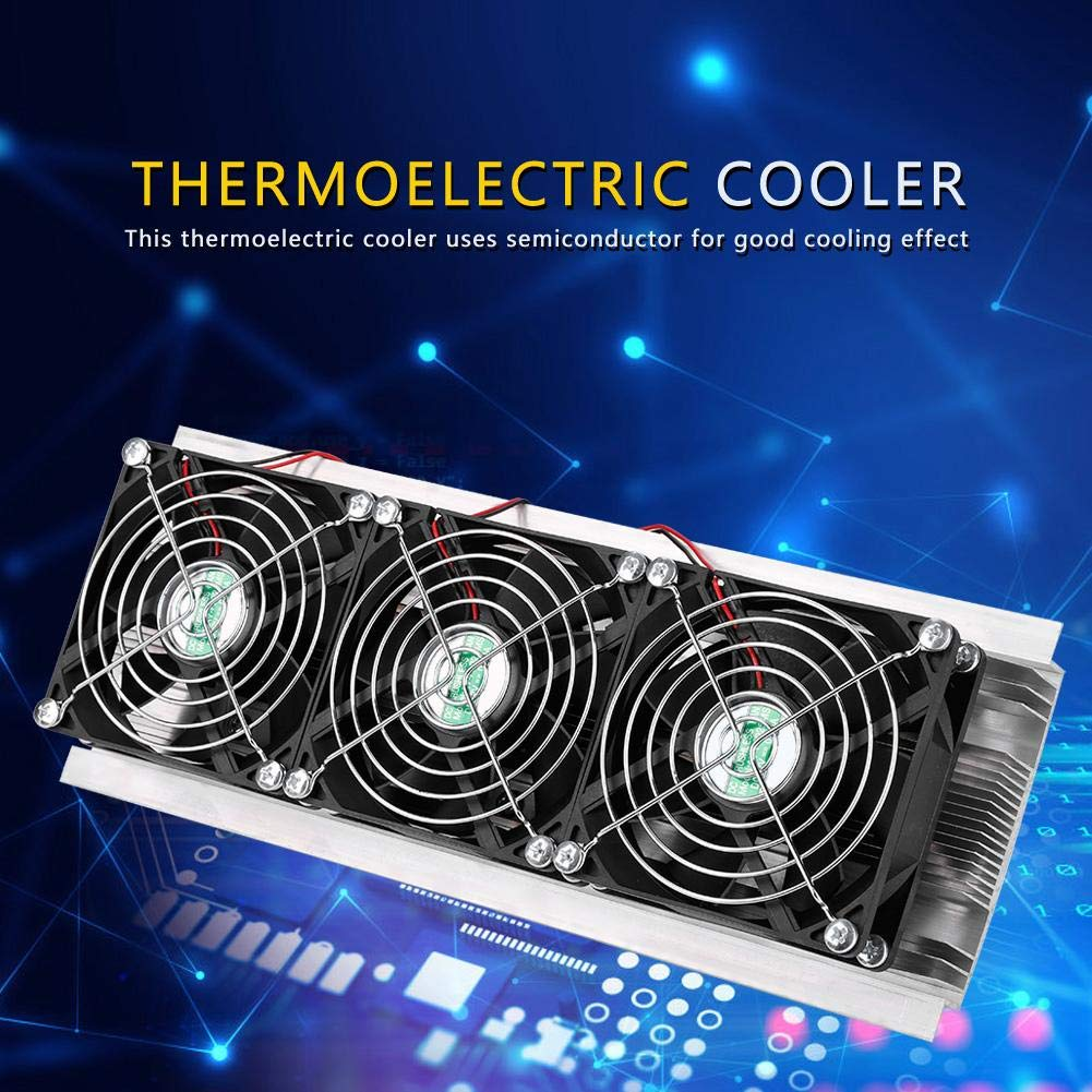 Iceless Thermoelectric Cooler,Semiconductor Refrigeration Cooling Device Thermoelectric Cooler 20A 12V DIY Mini Fridge Semiconductor Cooler Semiconductor Refrigeration System