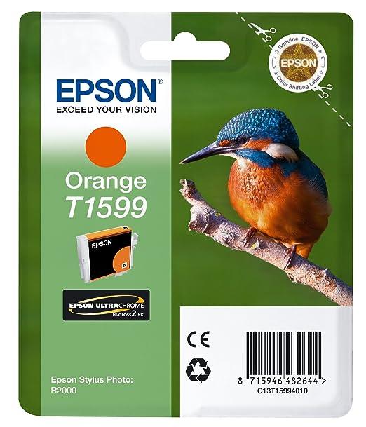 7 opinioni per Epson C13T15994010 Cartuccia Inkjet Ink Pigmentato Blister RS Martin Pescatore,