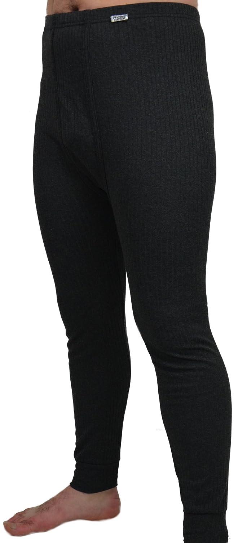 2 lange Herren Thermo - Unterhosen Flauschige Thermowäsche innen angeraut in 4 verschiedenen Farben
