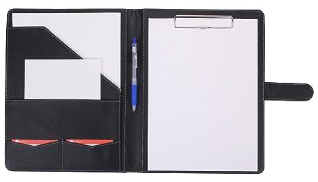 Amazoncom Padfolio Portfolio Mymazn Faux Leather Folder