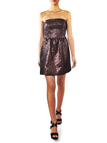 Pied A Terre Jacquard Rouge Dress - House of Fraser (10, Aubergine): Amazon.co.uk: Clothing
