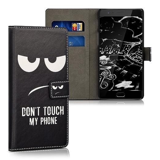 6 opinioni per kwmobile Custodia portafoglio per OnePlus 3 / 3T- Cover a libro in simil pelle