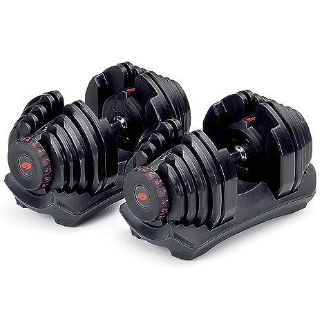Par de mancuernas ajustables Bowflex® SelectTech 1090: Amazon.es ...