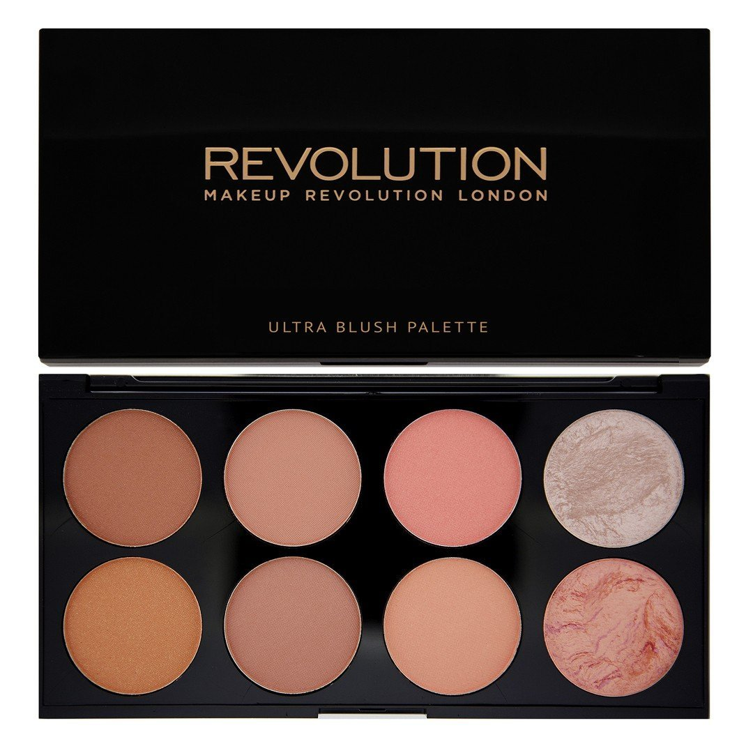 Maquillaje Revolution Ultra Blush and Highlight palé – Hot Spice, 13 g Makeup Revolution 17853