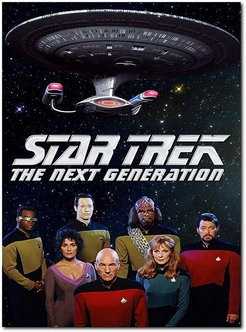 Star Trek The Next Generation Tv Series Poster (13 x 19 inch / 33 x 48 cm) unframed, Display Ready Photo Print