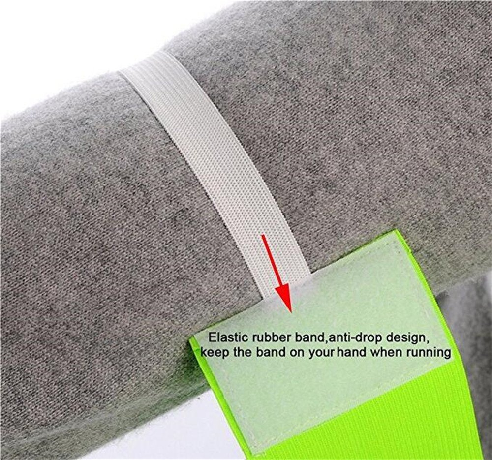 6 Pcs Outdoor Football Soccer Adjustable Captain Armbands Flexible Sports Player Bands for Kids and Youth Wendy Mall