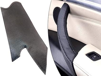 T/ürgriffabdeckung X5 E70 links, schwarzes Leder X6 E71
