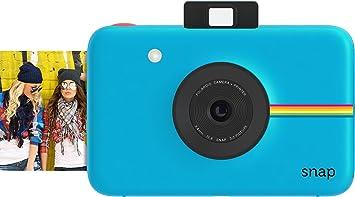 Amazon.com : Polaroid Snap Instant Digital Camera (Blue) with ZINK ...