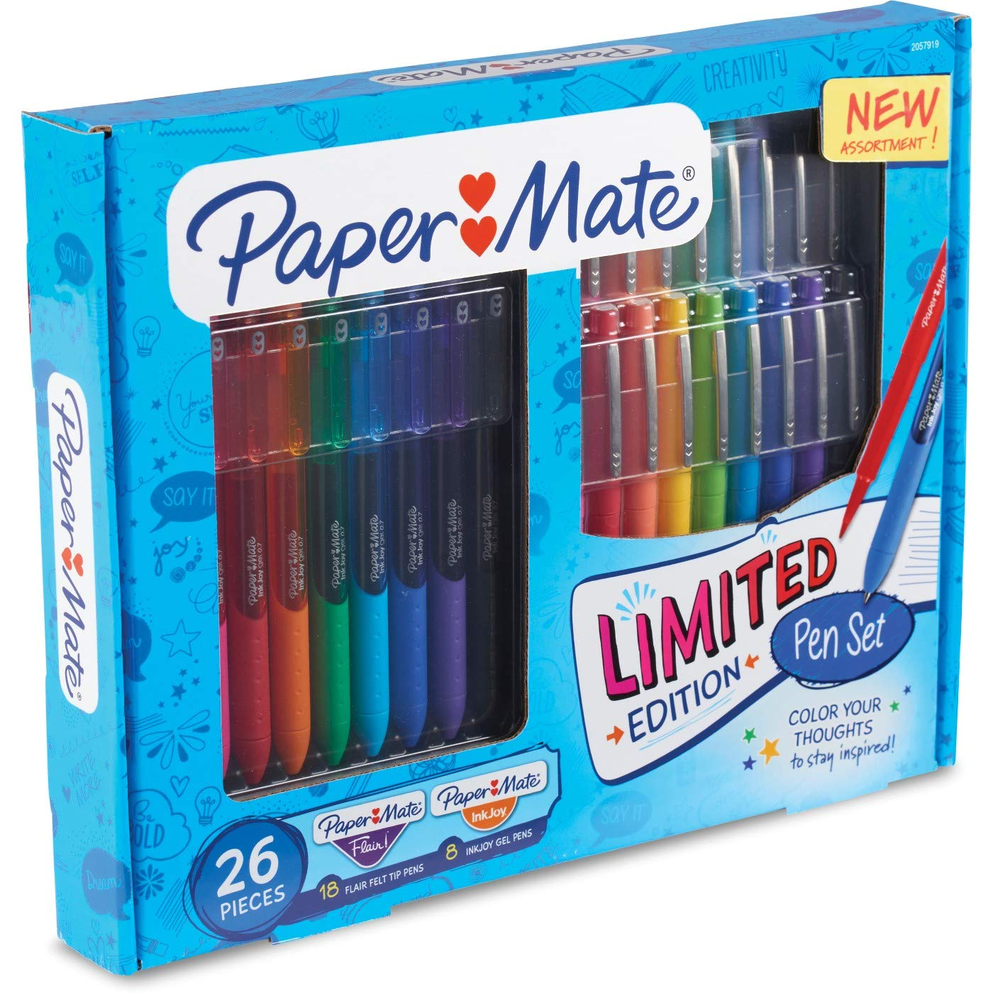 Paper Mate Rollerball Gel Pens 26ct - Multicolor by Paper Mate (Image #2)
