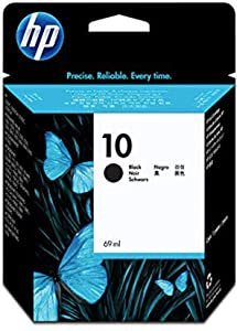 HP 10 | Ink Cartridge | Black | C4844A