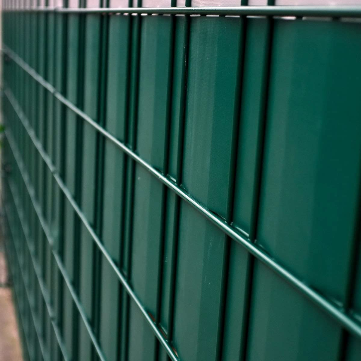 Amazon De Fair Style Sichtschutz Streifen Zaunfolie 35m Grun