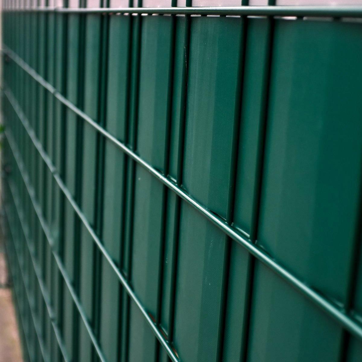 70m Sichtschutz Rolle anthrazit RAL 7016, Materialstärke 0,7 kg kg kg m², inkl. 40 Kunststoff-Clips, Rollenbreite 19cm, für Gartenzäune, EIN- oder Doppelstabmatten-Zäune mit Maschenhöhe 20 cm, Model 6562 3a2040