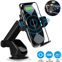 HonShoop Qi 10W 7.5W Fast Wireless Car Phone Charging Holder