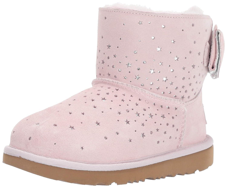 bcf28eb1237 UGG Kids Girls Stargirl Classic Mini II Bow Boot: Amazon.co.uk ...