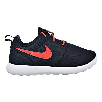 official photos a2790 81a43 Nike Roshe One (PS) Little Kids Shoes BlackMax OrangeWhite 749427