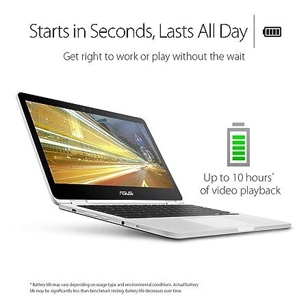 ffe19d494c60 Amazon.com  ASUS C302CA-DHM4 Chromebook Flip 12.5-inch Touchscreen  Convertible Chromebook, Intel Core m3, 4GB RAM, 64GB Flash Storage,  All-Metal Body, ...