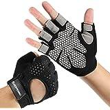 Workout Gloves, Weight Lifting Gloves : Men & Women Gym Glove Cycling Glove, for Weightlifting, Pull Up, Dumbbell, Cross…