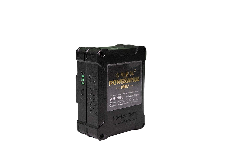 POWERANGE 14.8V TSA フレンドリー シネマ ミニ ゴールド マウント バッテリー 98Wh B07L6QLTLX