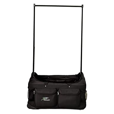 Dance Bag With Garment Rack Extraordinary Amazon Closet Trolley Dance Bag With Garment Rack BLACK NEW