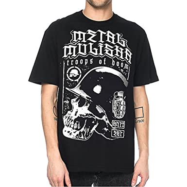 Amazon.com  Metal Mulisha Men s Doom SS T Shirt Black M  Clothing 83b66b9df