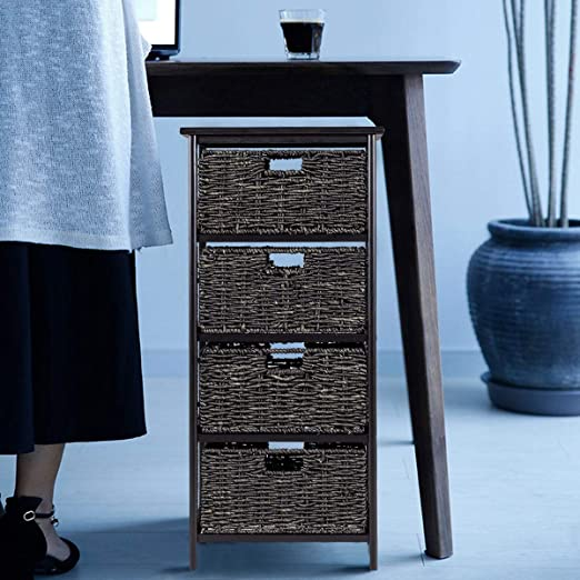 Amazon.com: Giantex Accent mesa final para madera muebles ...