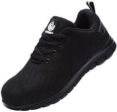Amazon.com: DYKHMILY - Zapatos de seguridad para hombre y ...