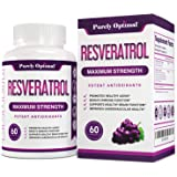 Premium Resveratrol Supplement 1500mg - Max Strength Potent Antioxidant, Trans Resveratrol Capsules for Heart Health…