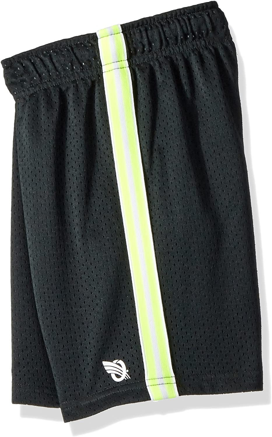OshKosh BGosh Little Boys Mesh Shorts 5 Kids Neon Yellow Black Space Dyed
