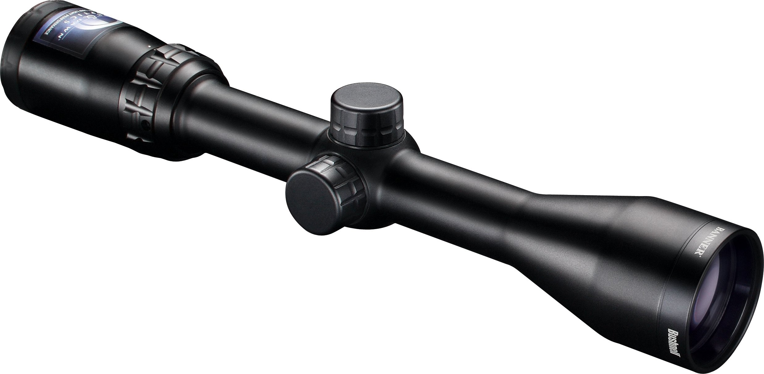 Bushnell Banner Dusk & Dawn Multi-X Reticle Riflescope with 3.3-Inch Eye Relief, 3-9X 40mm by Bushnell