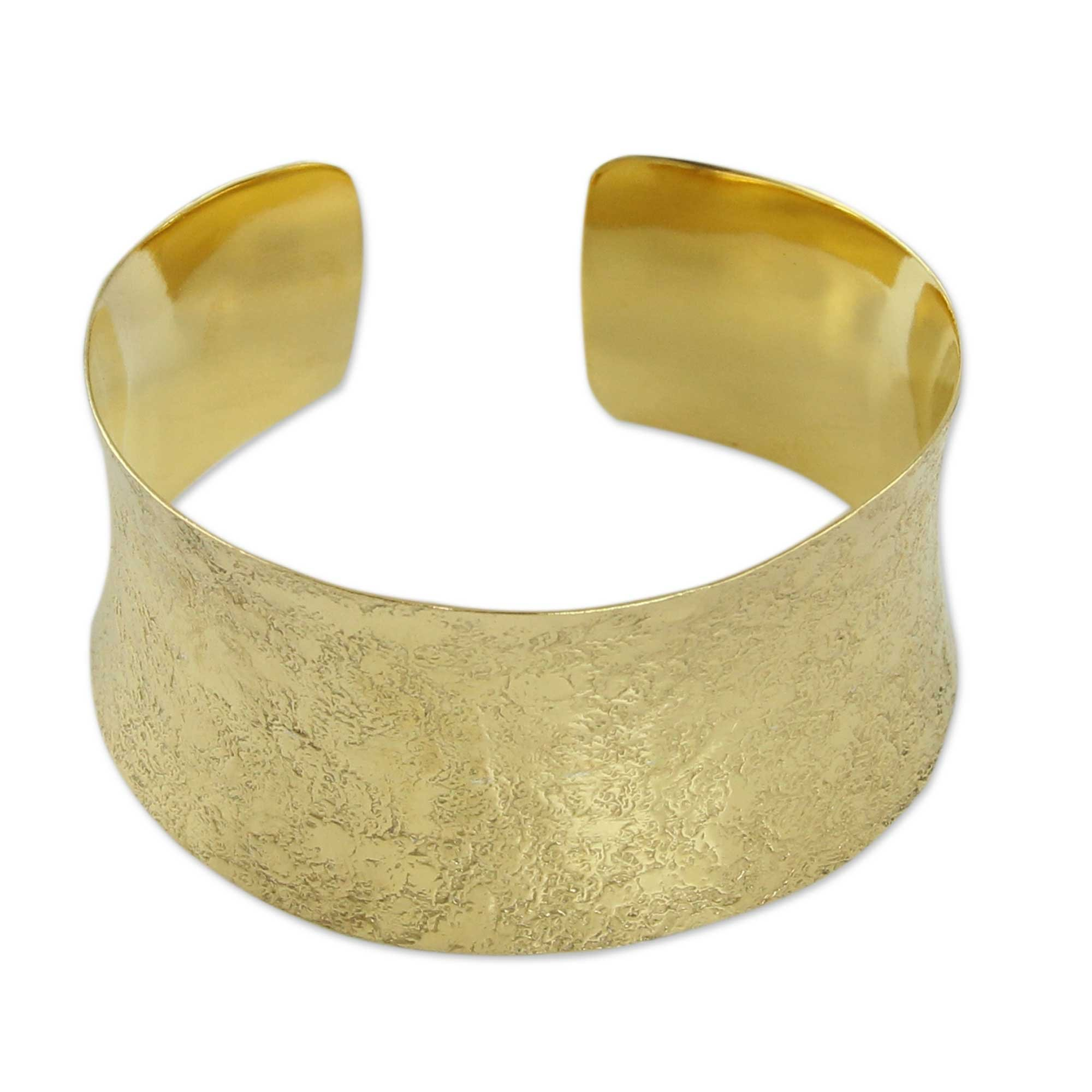 NOVICA .925 Sterling Silver Cuff Bracelet, 'Summer Skies'