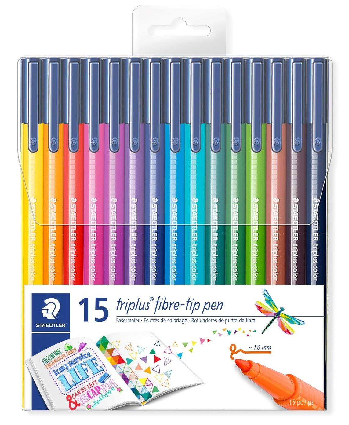 Staedtler 323 TB26  Filzstifte triplus color 26 er Set