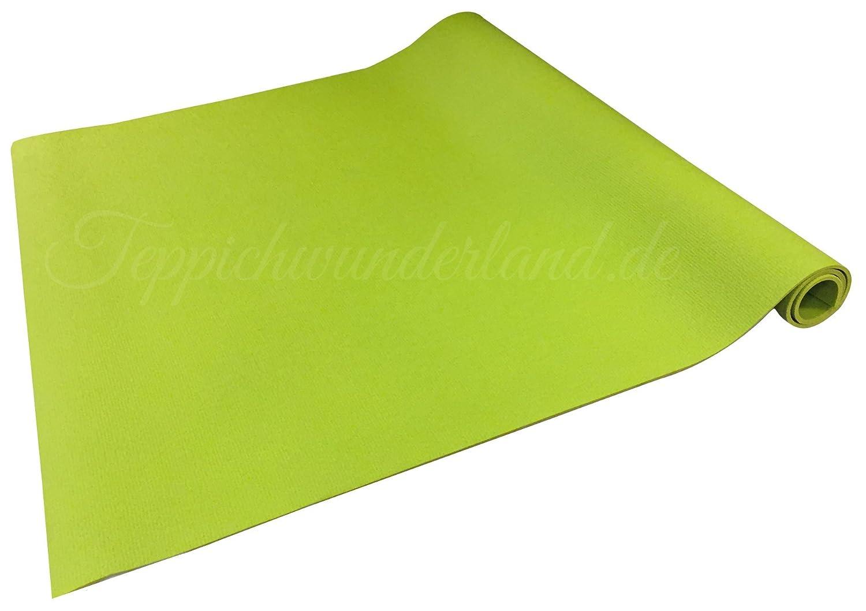 Krabbelmatte in Grün 200 x 160 cm Teppichwunderland Krabbelunterlage aus 100% PVC-Weichschaumsoff für babys