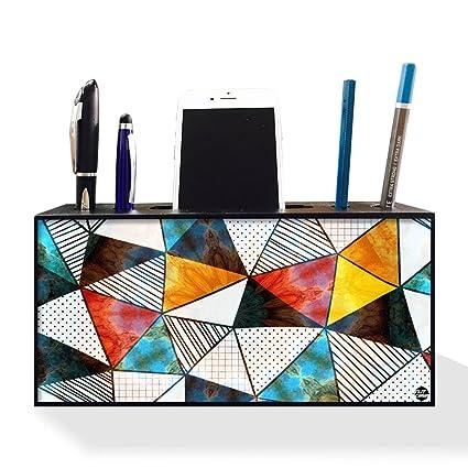 7c51e92d9a Nutcase Designer Pen Mobile Stand Holder for Office Table-Wooden Desk  Organizer-4