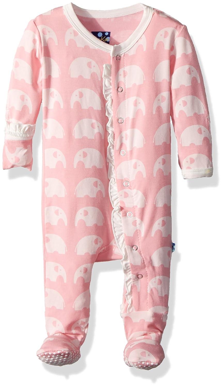 大きい割引 Kickee 3 Pants SLEEPWEAR SLEEPWEAR ベビーガールズ 0 - Elephant 3 Months Lotus Elephant B01LPUH9BQ, いぶしの館 なかよしミート:e555e14c --- a0267596.xsph.ru