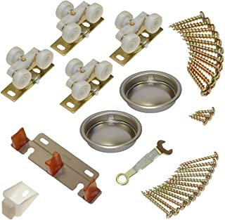 """product image for 134F Sliding Bypass Door Hardware (48"""" 2 Door System)"""