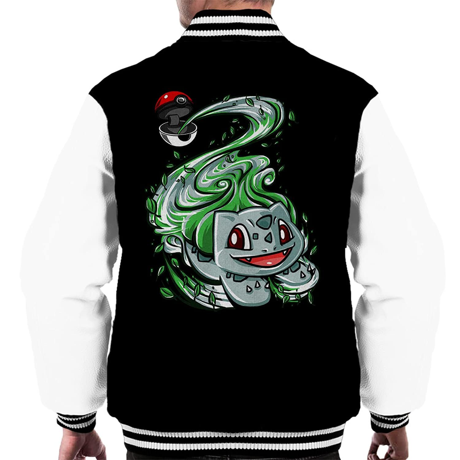 Bulbasaur Pokeball Pokemon Men's Varsity Jacket