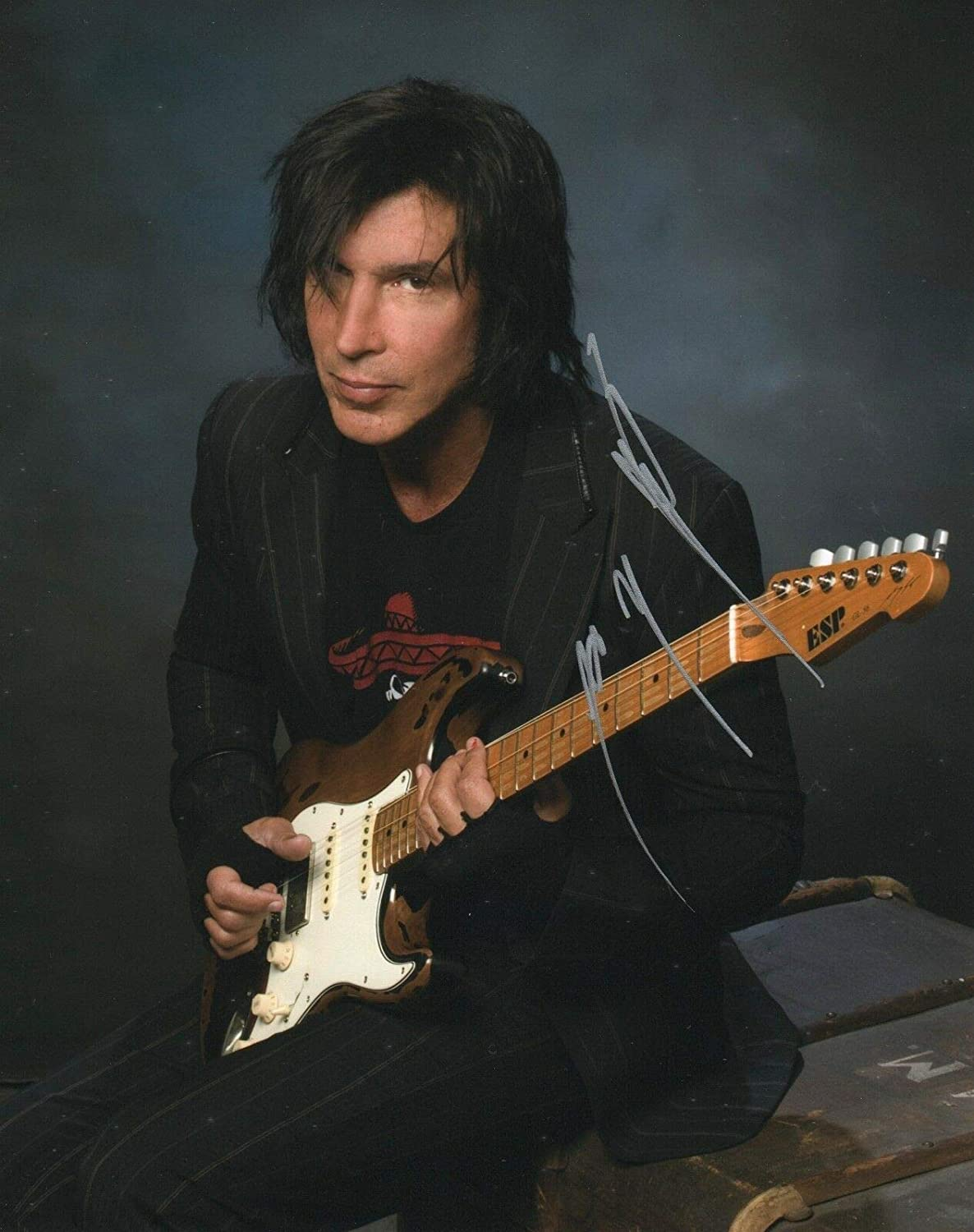 The 66-year old son of father (?) and mother(?) George Lynch in 2020 photo. George Lynch earned a  million dollar salary - leaving the net worth at  million in 2020