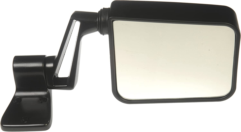 Folding for Select Jeep Models Dorman 955-232 Passenger Side Manual Door Mirror Black