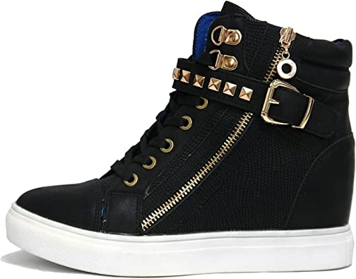 Top Sneakers Lady Ankle Trainers Boots