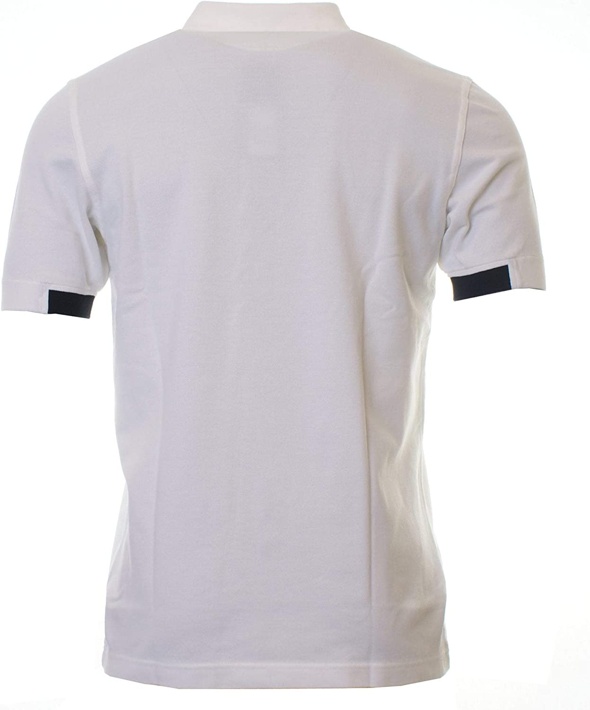 Fred Perry Camisa de Manga Corta con Punta Polo Camiseta Blanca ...