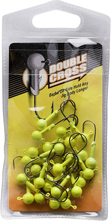 NEW    CRAPPIE MAGNET HEADS 25 pc PK  1//16