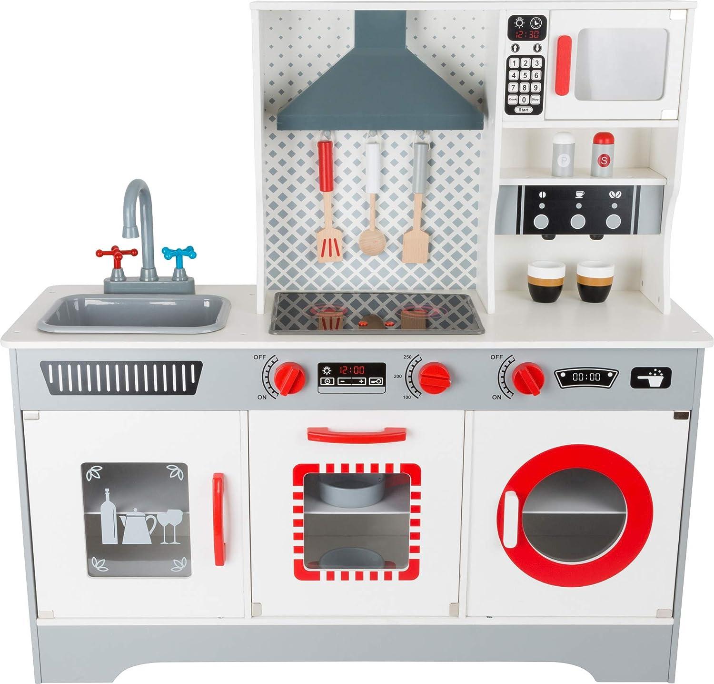 Children\'s Play Kitchen Toy Cooking Play Set w/ Lights ...