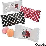 Ladybug Sweet Cream Candy Favors - 108 pcs