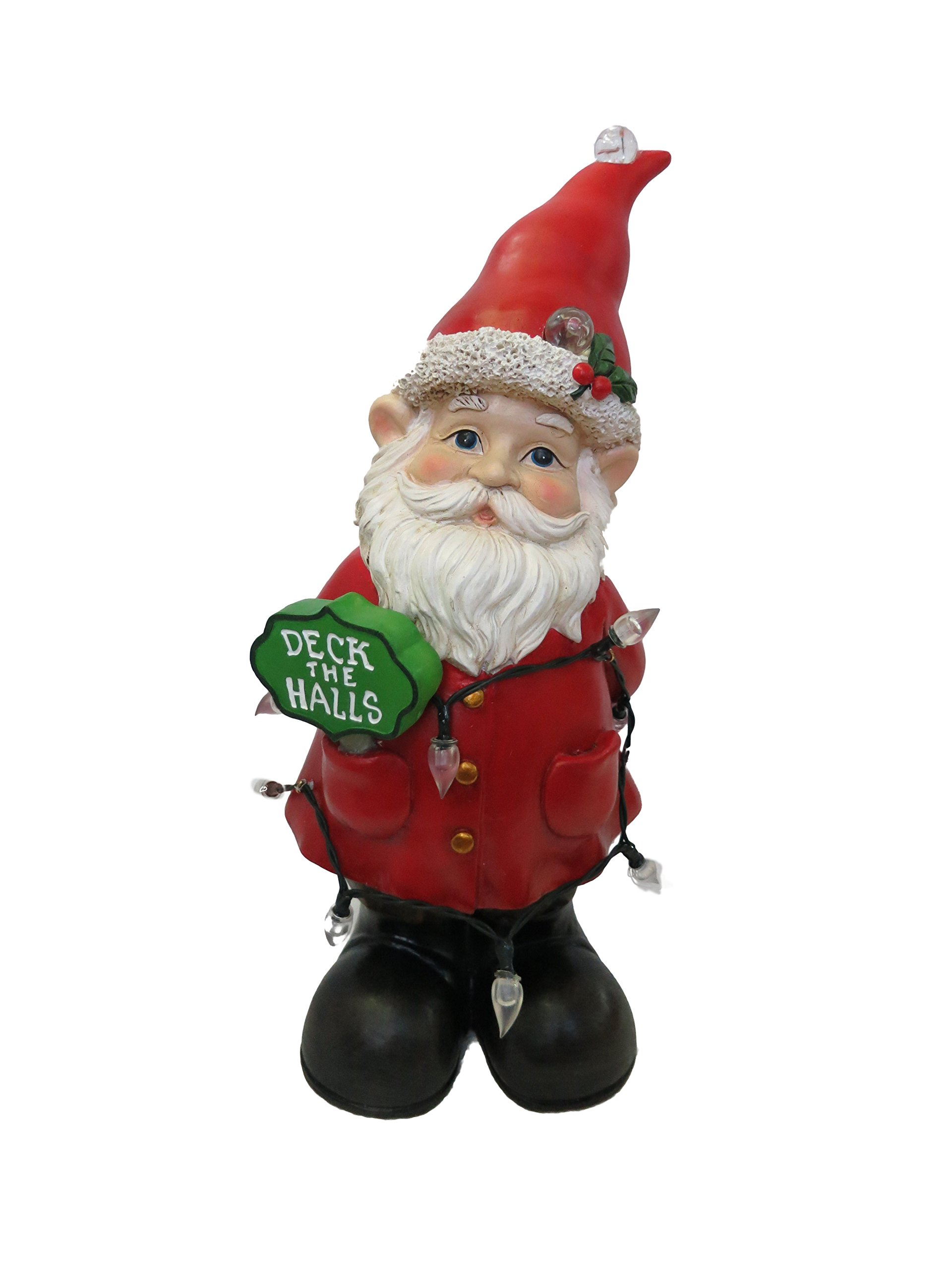 Alpine Corporation ZEN206S Gnome Status with Color Changing LED Lights